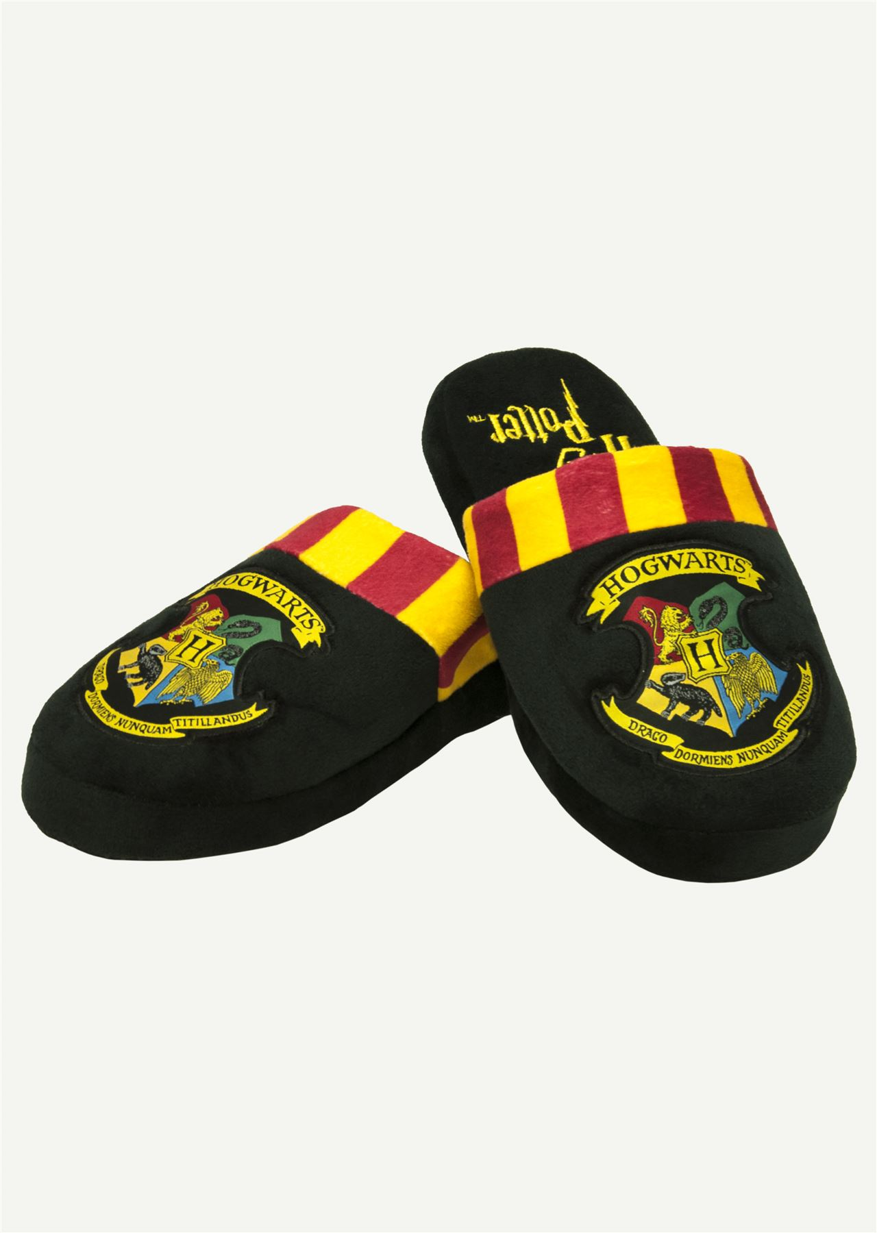 f4eaeb8b232 Mens Harry Potter Hogwarts Mule Slippers Large UK 8-10 Official Merchandise