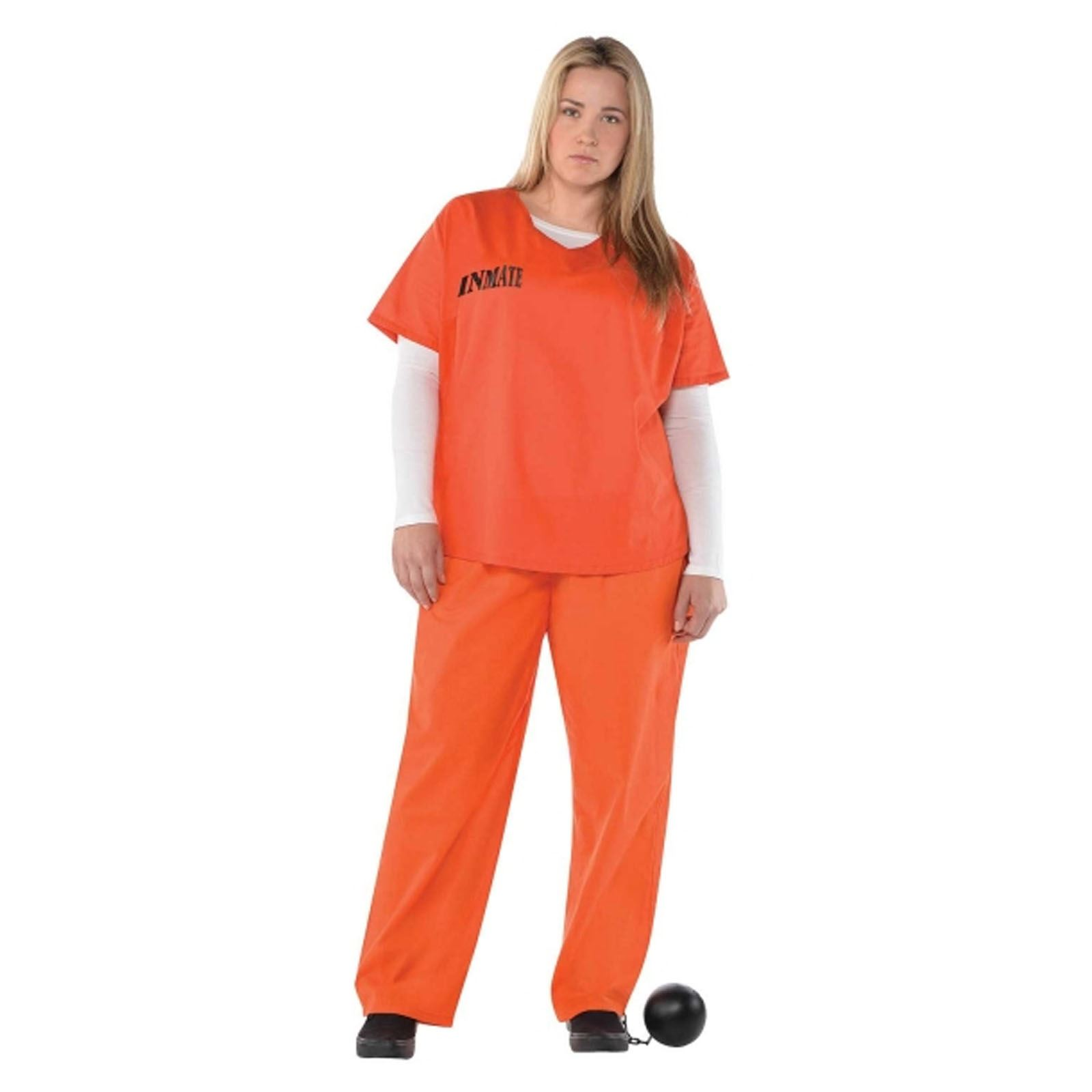 girl in prison uniform