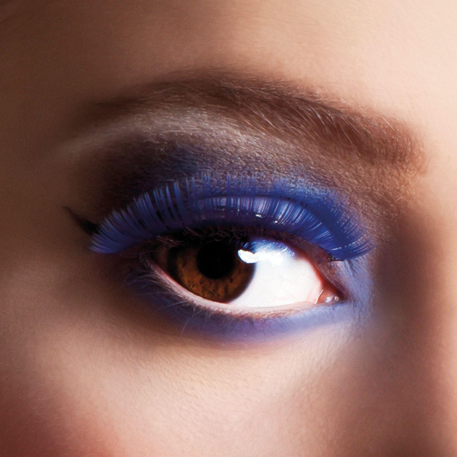 Deluxe False Individual Use Long Extra Large Eye Lashes Eyelashes ...