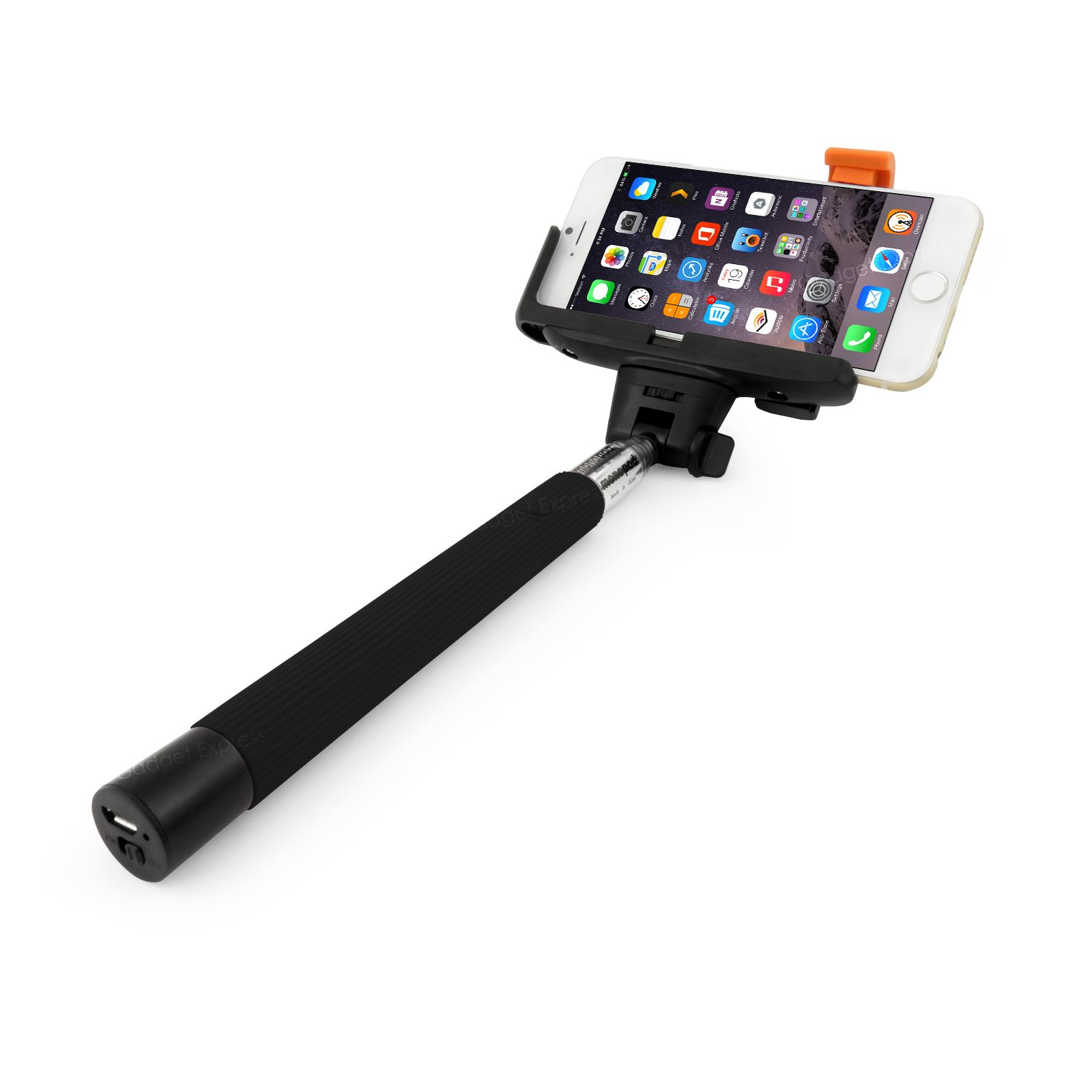 extendable monopod handheld self portrait selfie stick holder for iphone samsung ebay. Black Bedroom Furniture Sets. Home Design Ideas