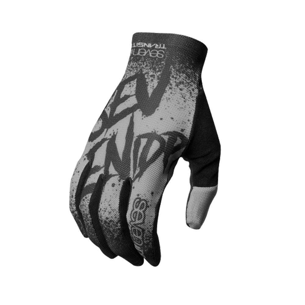 SEVEN iDP  MTB//BMX cycling glove red//blue//all black