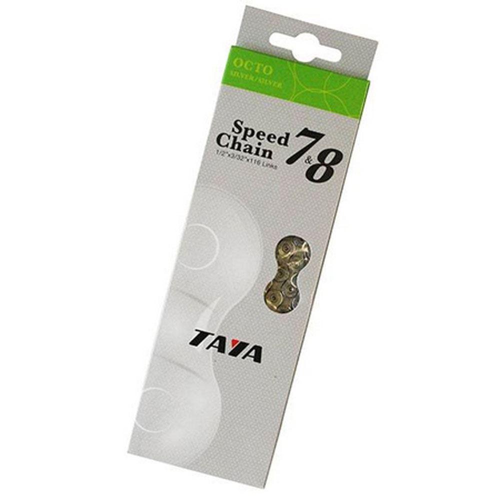 Taya Nove-91 9 Speed 116 Links DHT Diamond Hard Tech Bicycle Chain Multi-Color