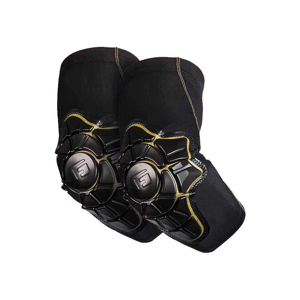 EVS Sports Option Black EIN Paar leichte Ellenbogensch/ützer