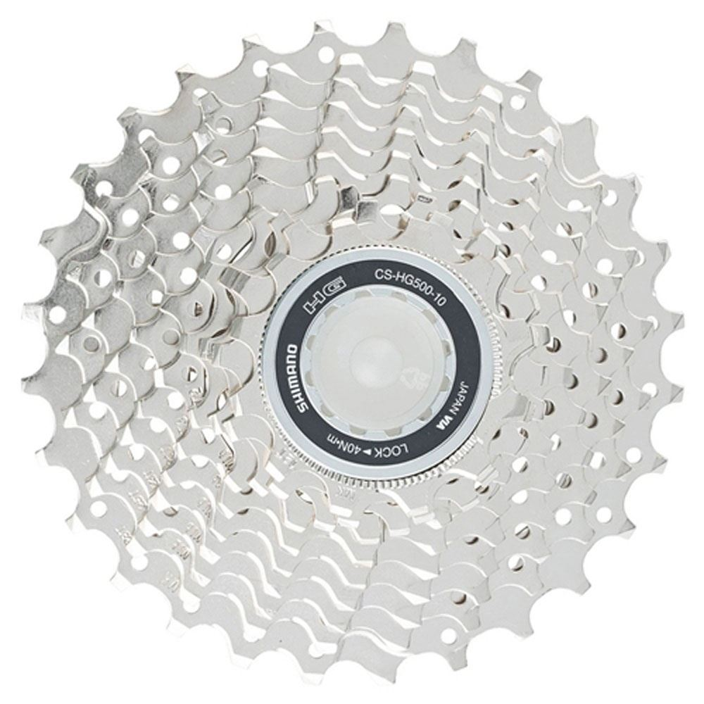 SHIMANO CS-HG500 HYPERGLIDE 10 SPEED---11-25T MTB BICYCLE CASSETTE