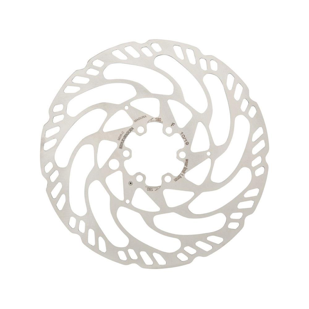 Magura MDR-C 203mm Disc Brake Rotor 6 Bolt ISO Fitting eBike MTB Silver