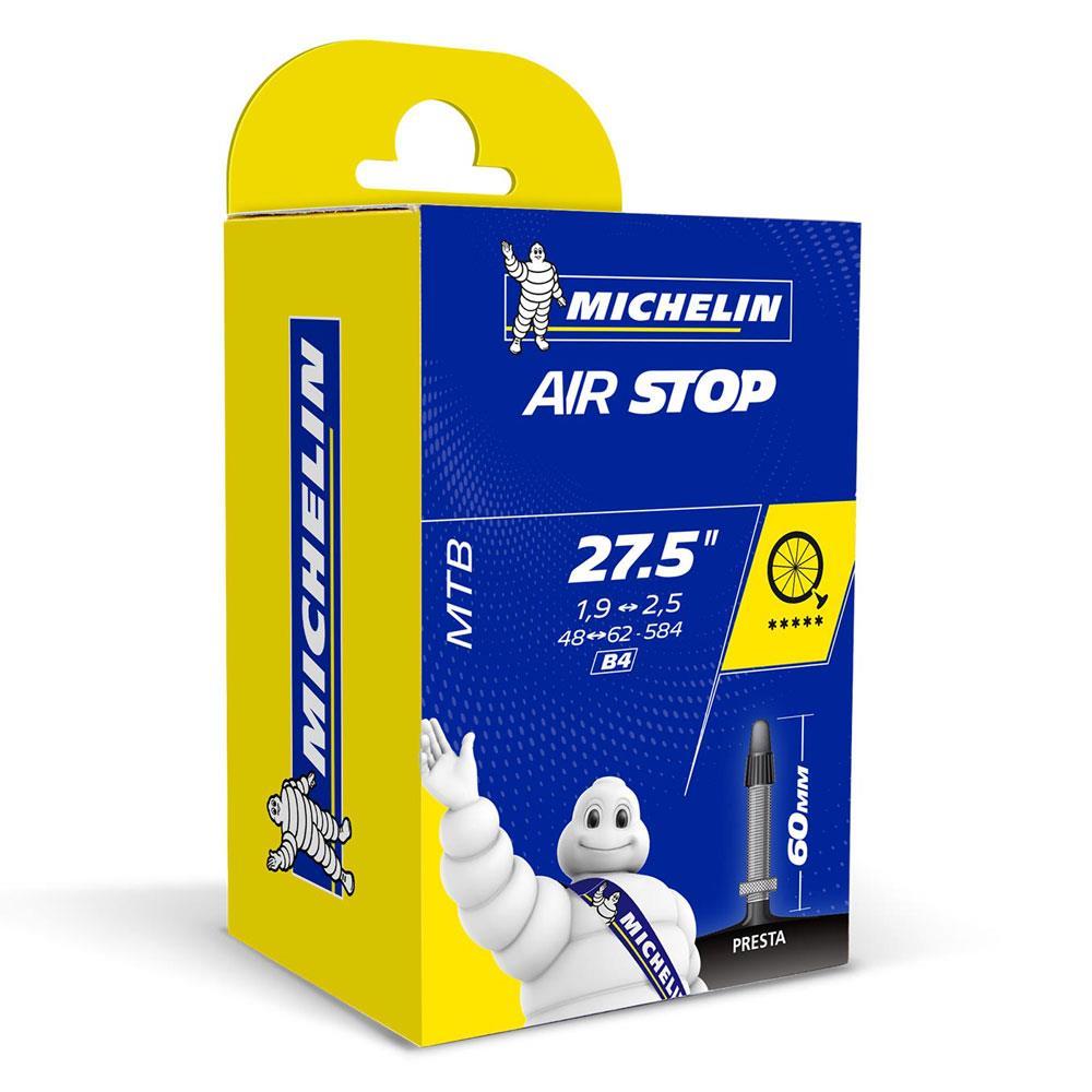 "Presta pack de 2 Michelin 27.5 x 2.4-3.3/"" B6 AIRSTOP Taille Plus MTB inner tubes"