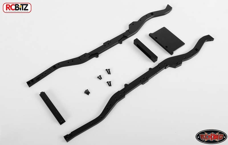 Gelande 2 Chassis Set for D90 Body 409mm long RC4WD Z-C0040 3 braces & front mt