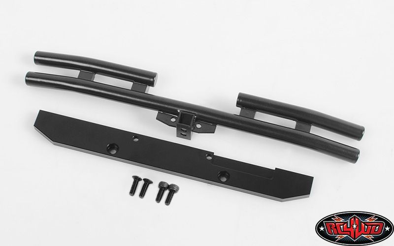 RC4WD-Rampage-Rear-Double-Tube-Bumper-for-Trail-Finder-2-SWB-Z-S1365-Metal