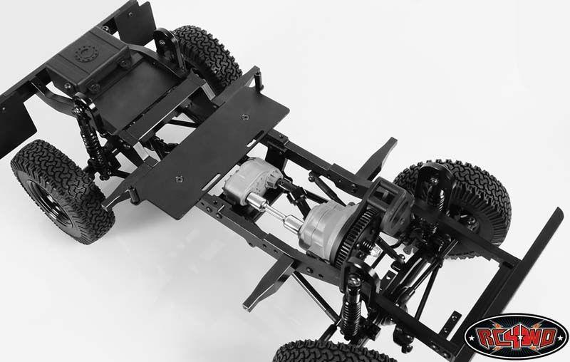 Gelande 2 châssis mis pour D90 Body 409mm long RC4WD Z-C0040 3 entretoises /& mt avant