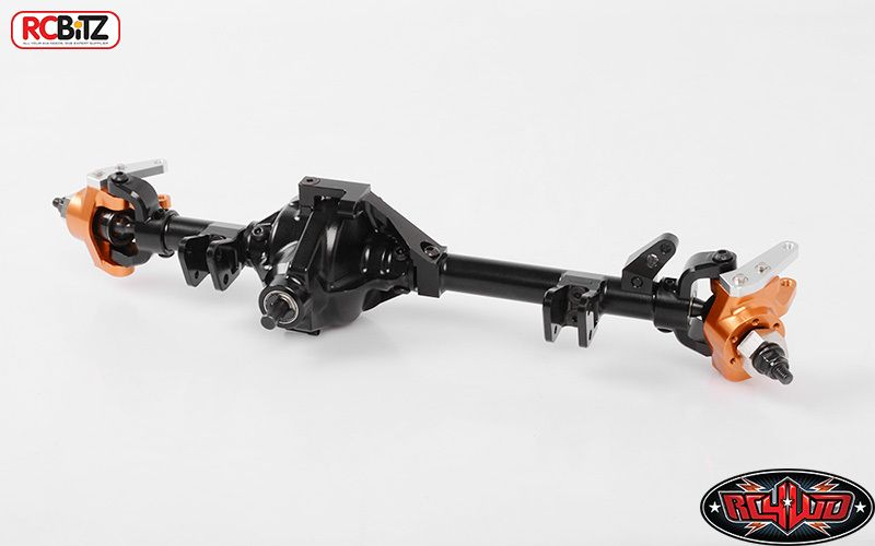 RC4WD D44 Wide FRONT Axle Wraith Bomber AR60 Width CNC Alluminium Z-A0110