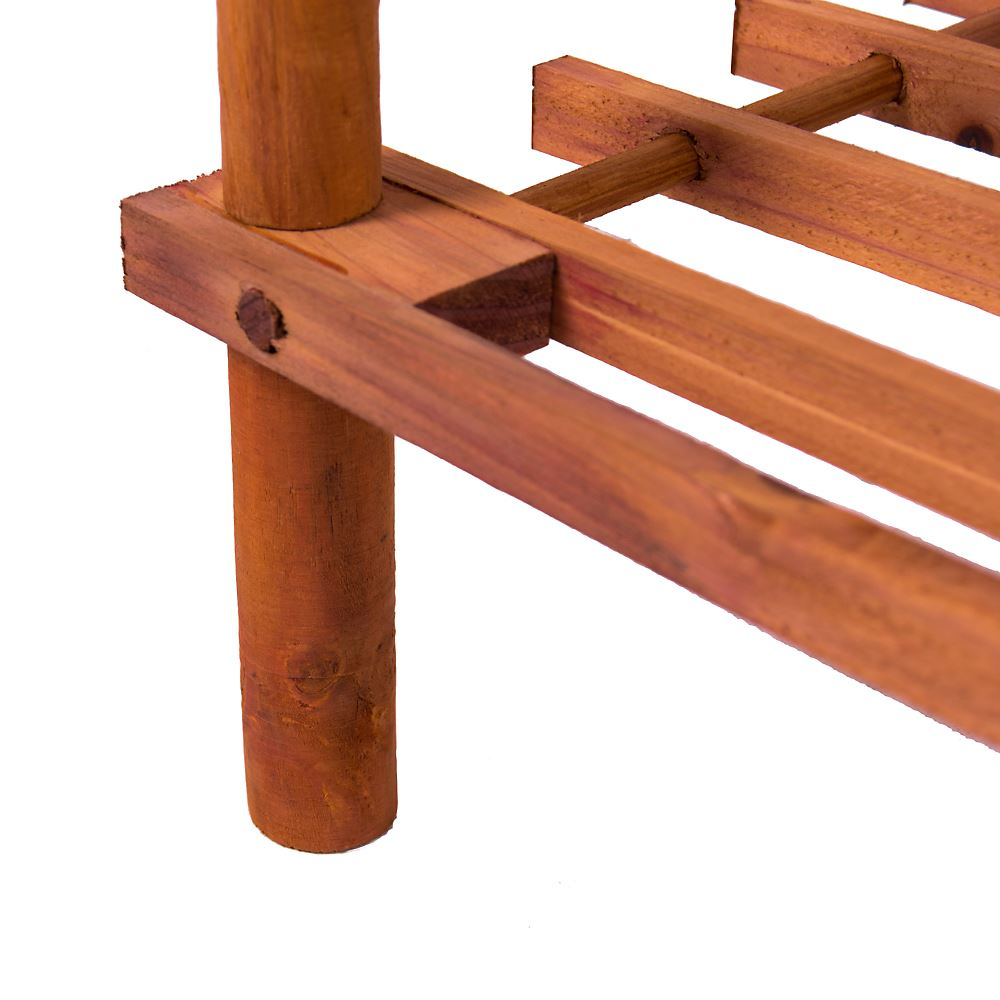 2-3-4-Tier-Shoe-Rack-Slated-Dark-Oak-Natural-Walnut-Wood-Footwear-Storage-Unit thumbnail 31