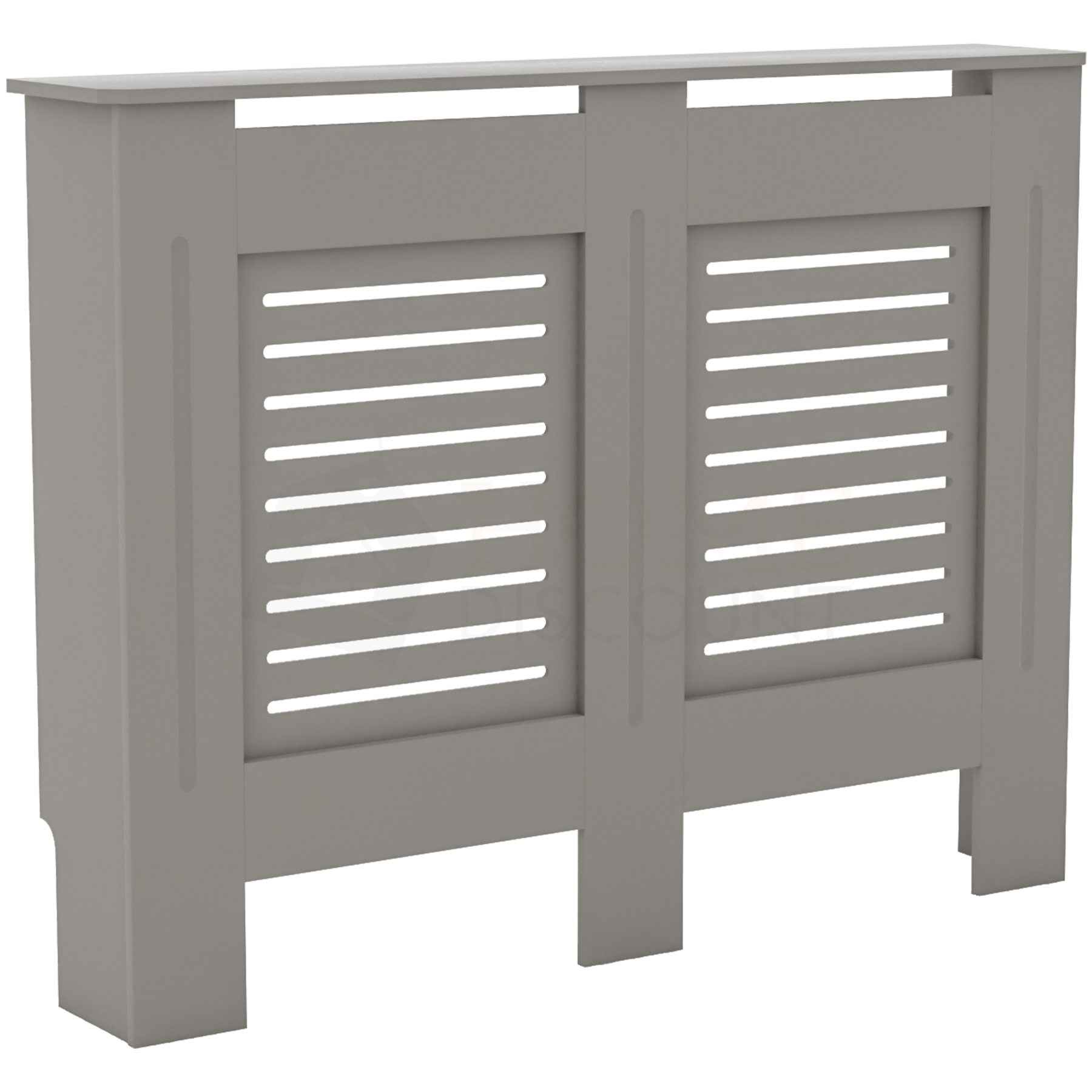 Radiateur-Housse-Blanc-inachevee-MODERNE-BOIS-TRADITIONNELLE-Grill-cabinet-furniture miniature 137