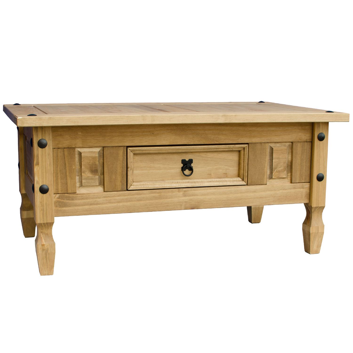Corona-Solid-Pine-Mexican-Living-Room-Waxed-Furniture-Sideboard-Bookcase-Table thumbnail 3