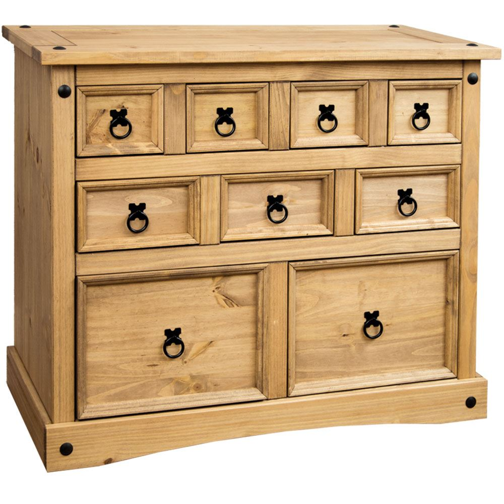 Corona-Panama-Chest-Of-Drawers-Bedside-Bedroom-Mexican-Solid-Pine-Furniture thumbnail 112