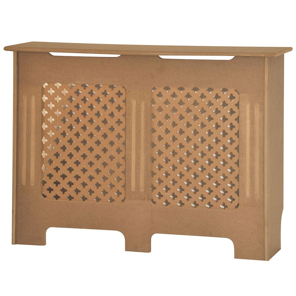 Radiator Cover Unfinished Traditional Modern MDF Wood Cabinet