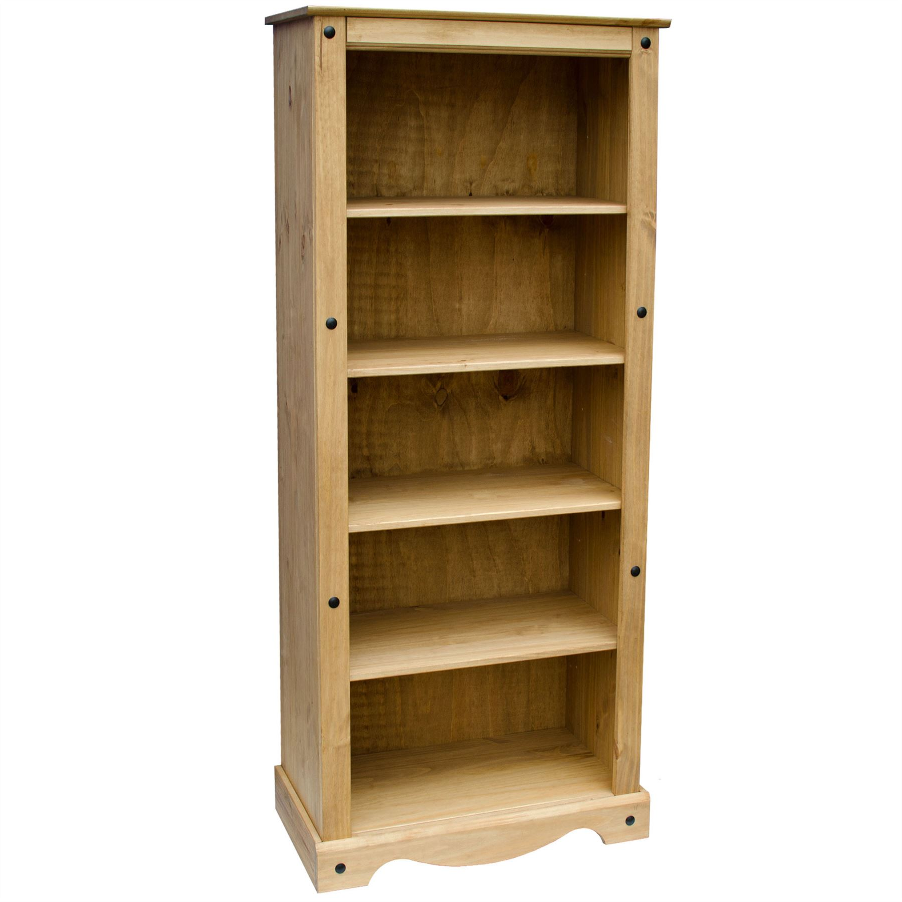 tall bookcase large cuba city with sheesham bookcases oak drawer dark