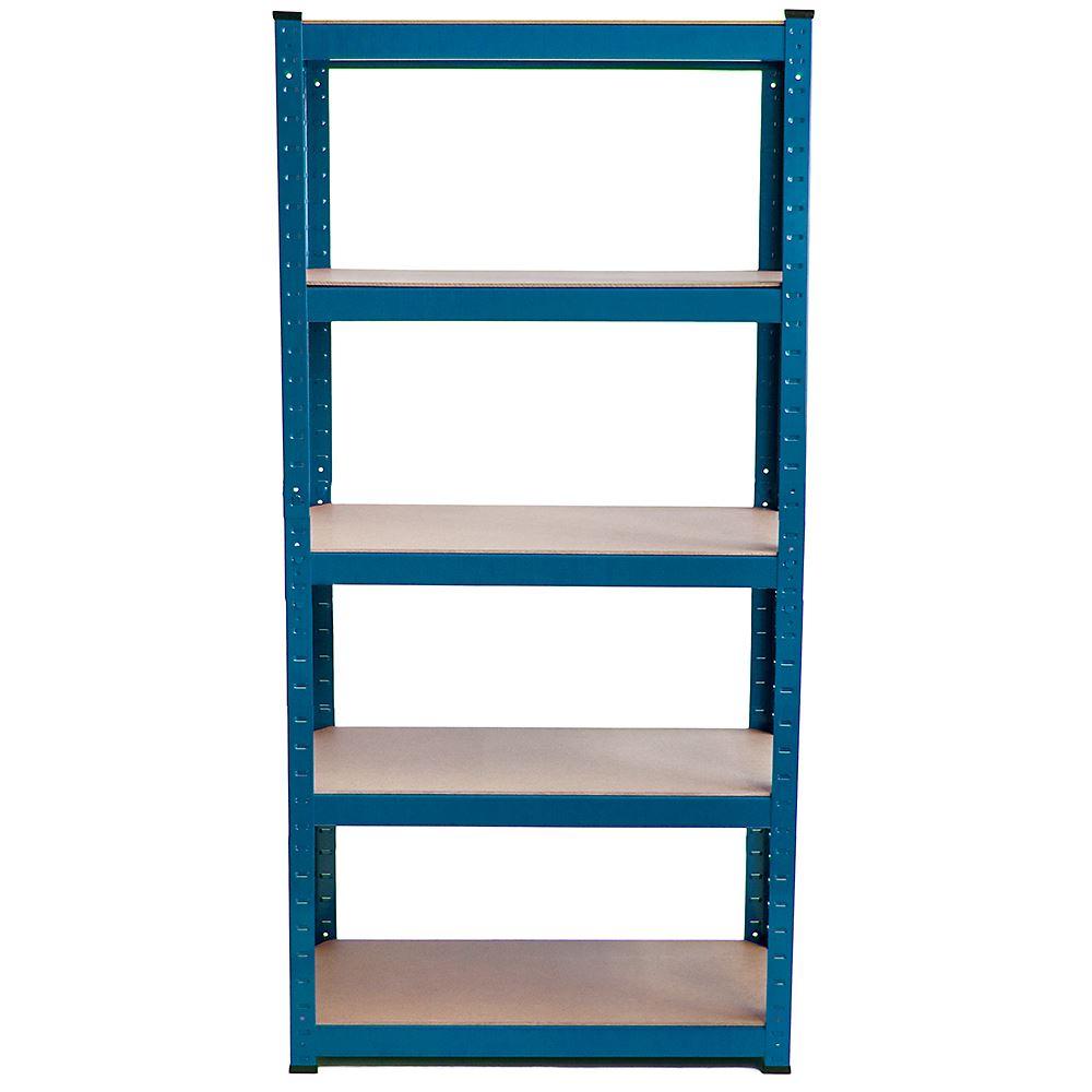 5-Tier-Garage-Shelves-Shelving-Unit-Racking-Boltless-Heavy-Duty-Storage-Shelf thumbnail 16