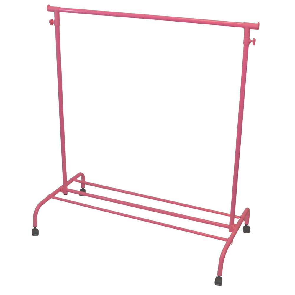 cleaning wood cabinets single garment rack pink clothes portable hanging rail 13637