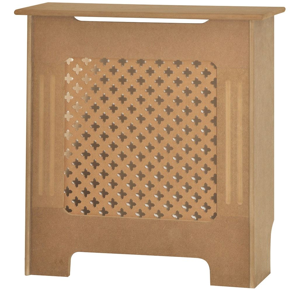Mdf Wood Kitchen Cabinets: Radiator Cover Unfinished Traditional Modern MDF Wood