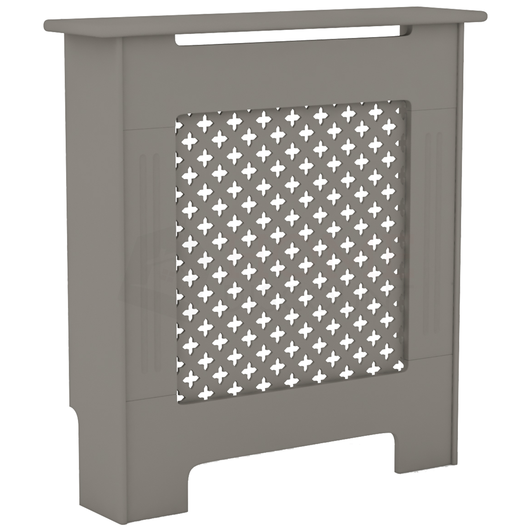 Radiateur-Housse-Blanc-inachevee-MODERNE-BOIS-TRADITIONNELLE-Grill-cabinet-furniture miniature 209