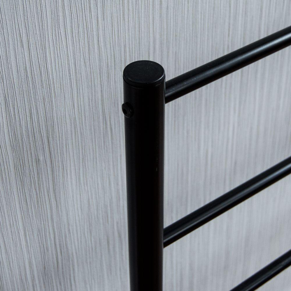 Dorset-Lit-King-Size-5-FT-environ-1-52-m-cadre-en-metal-Chambre-Noir-Argent-Blanc-meubles