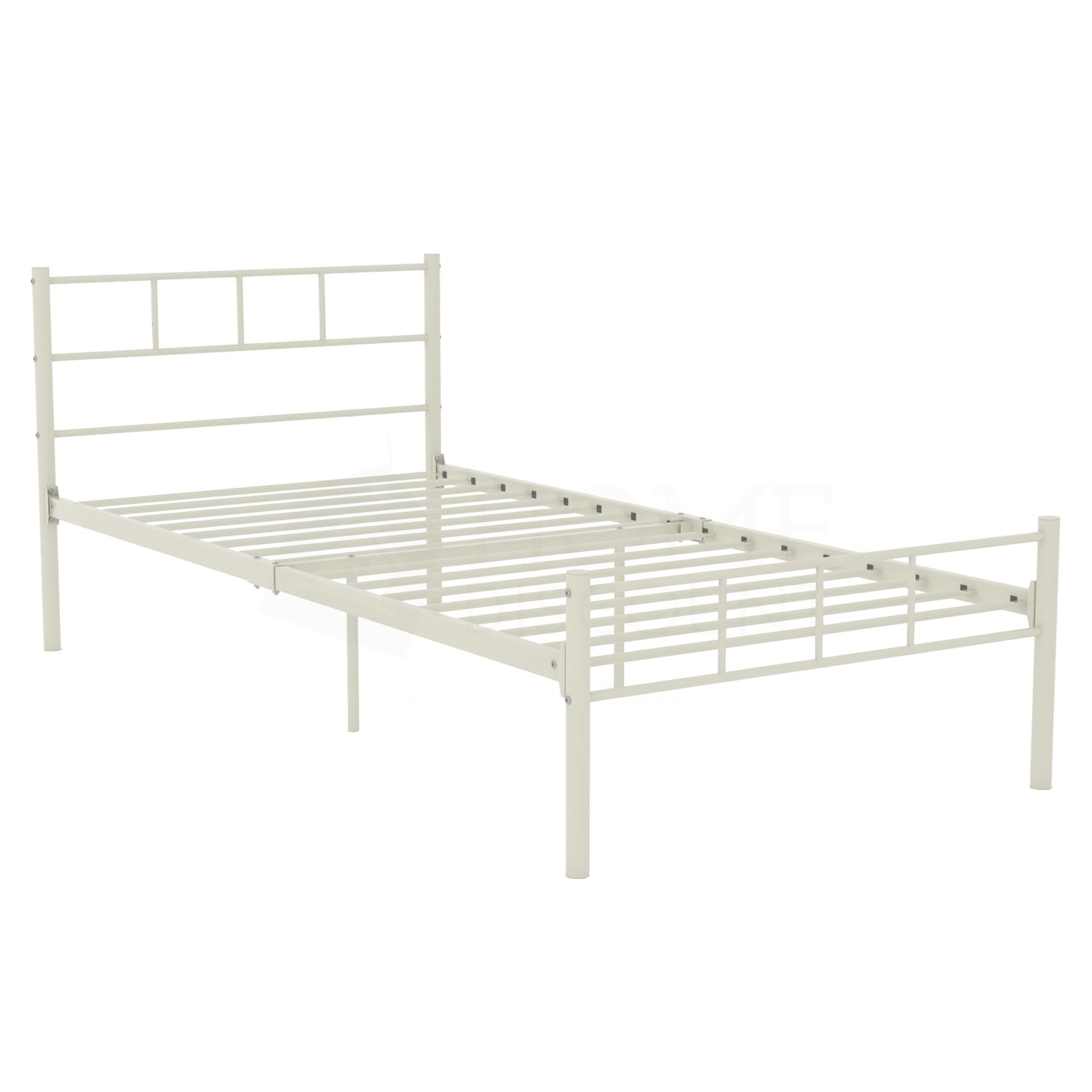 Dorset-Double-King-Size-Single-Bed-Metal-Steel-Frame-4ft6-5ft-Bedroom-Furniture thumbnail 26