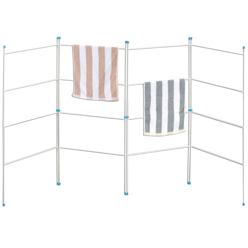 rack accessories drying clothes aluminum container polder store laundry the racks s