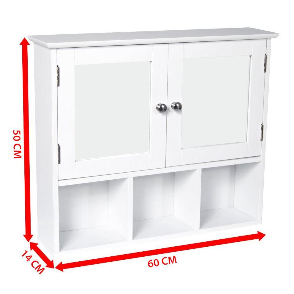 Mural-armoire-de-salle-de-bain-blanc-simple-double-porte-vanity-rangement-placard