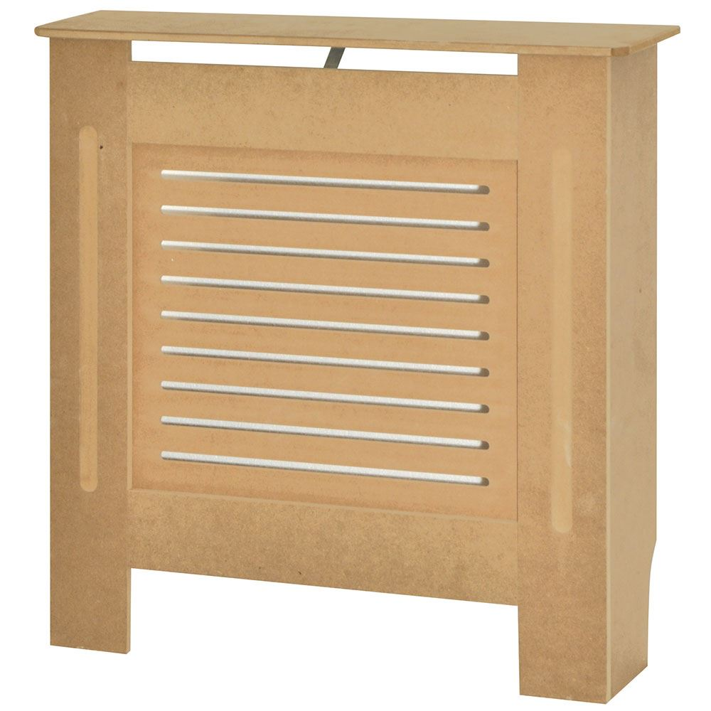 Radiator Cover Unfinished Traditional Modern MDF Wood