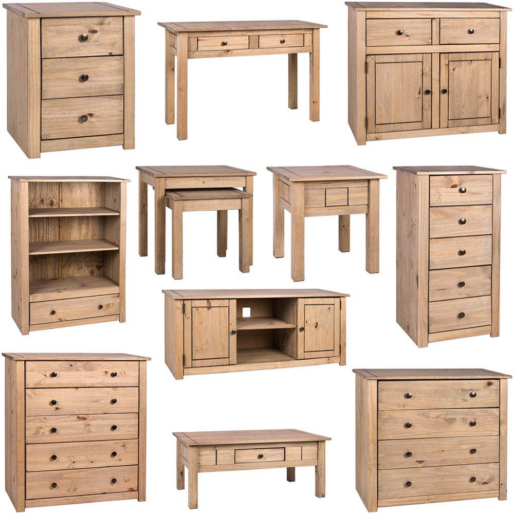 Panama chest of drawers tv unit table living room bedroom - Tv storage units living room furniture ...