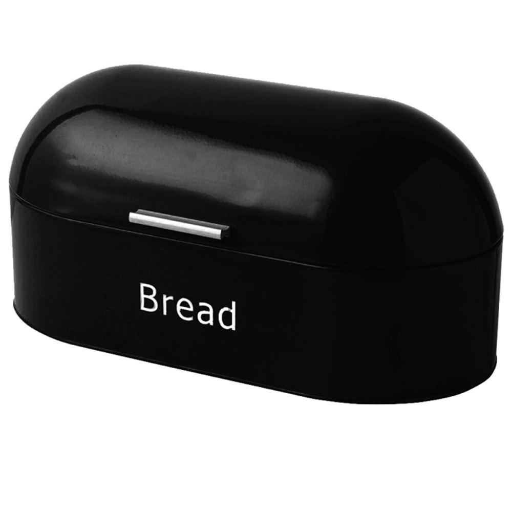 Rectangular Bread Bin Steel Roll Top Kitchen Storage Loaf: Bread Bin Retro Curved Mirrored Steel Kitchen Loaf Food