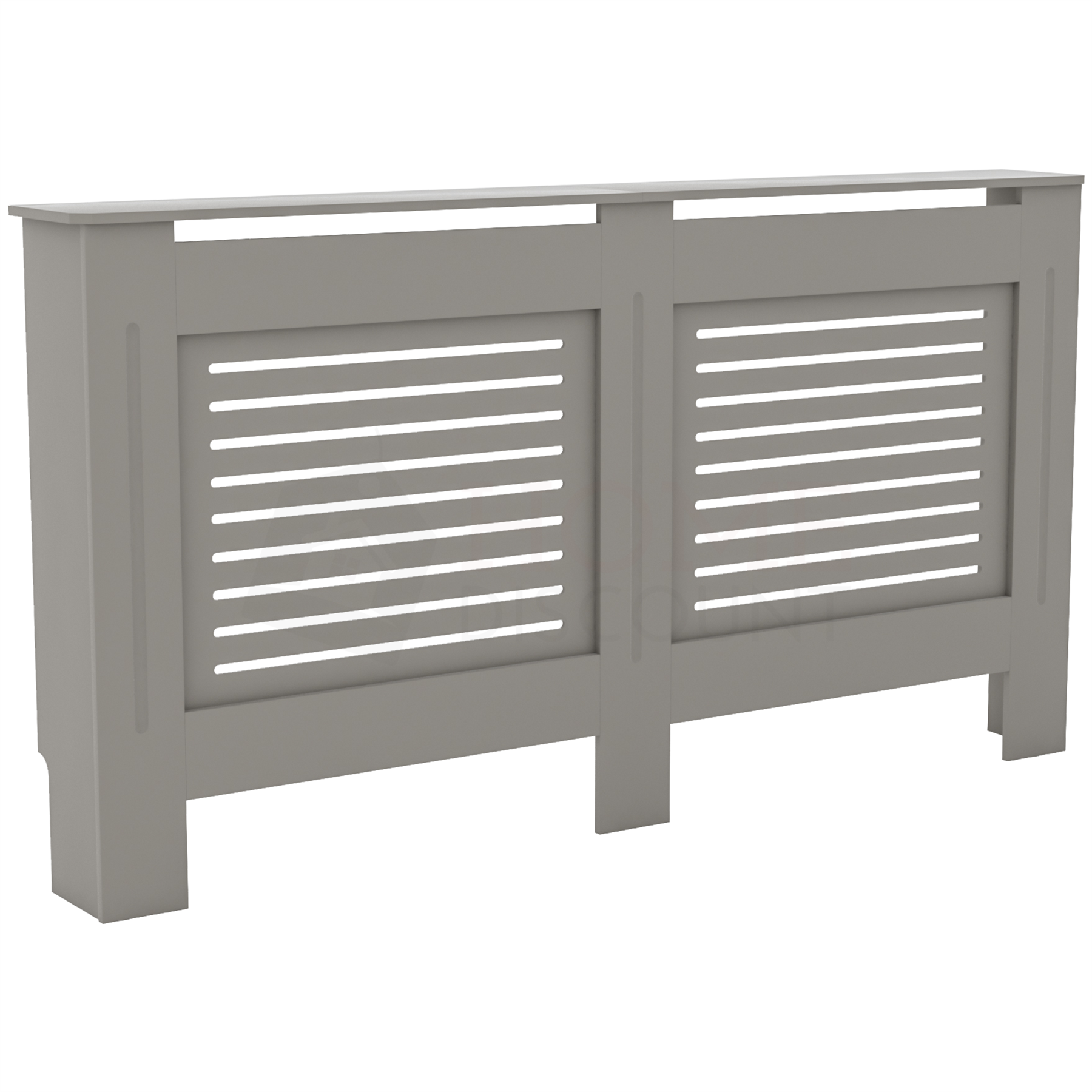 Radiateur-Housse-Blanc-inachevee-MODERNE-BOIS-TRADITIONNELLE-Grill-cabinet-furniture miniature 161