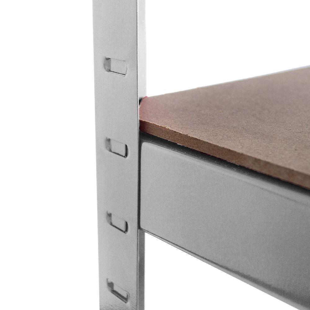 5-Tier-Garage-Shelves-Shelving-Unit-Racking-Boltless-Heavy-Duty-Storage-Shelf thumbnail 6