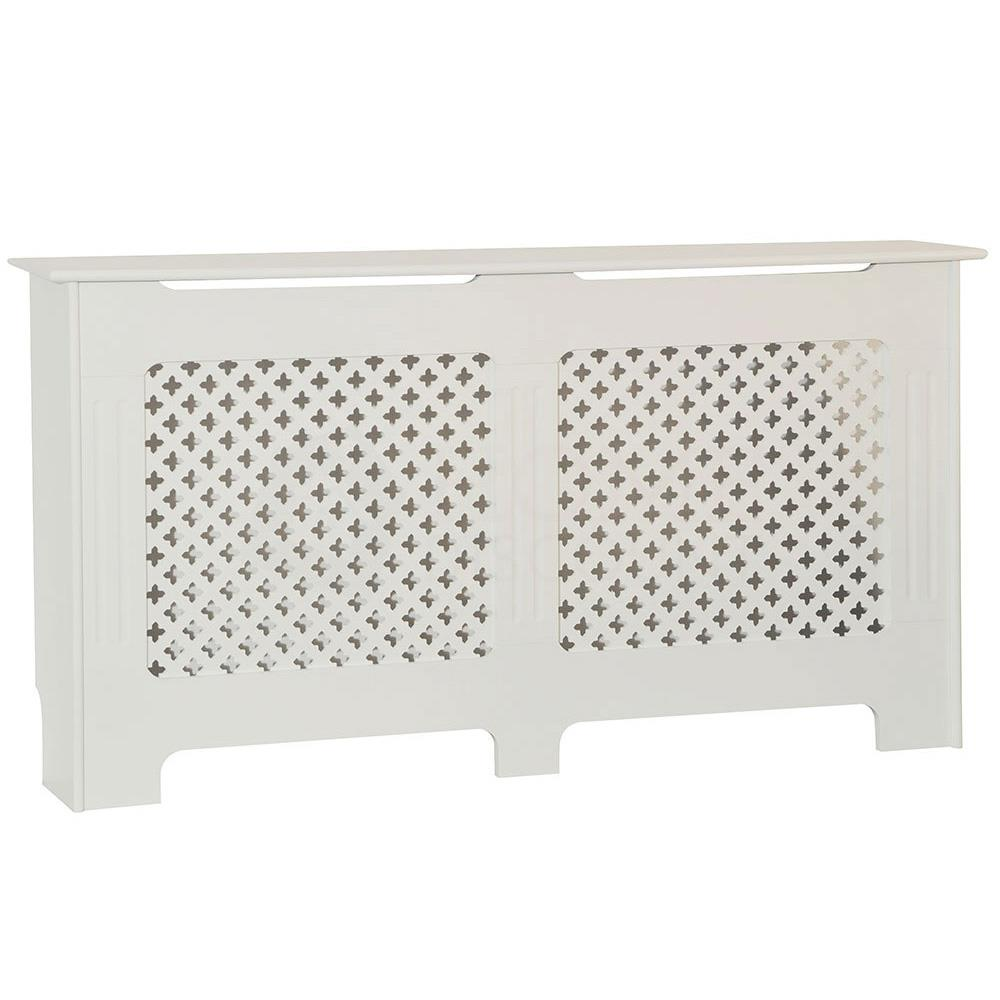 Radiateur-Housse-Blanc-inachevee-MODERNE-BOIS-TRADITIONNELLE-Grill-cabinet-furniture miniature 257