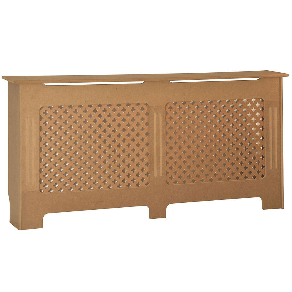 thumbnail 297 - Radiator Cover White Unfinished Modern Traditional Wood Grill Cabinet Furniture
