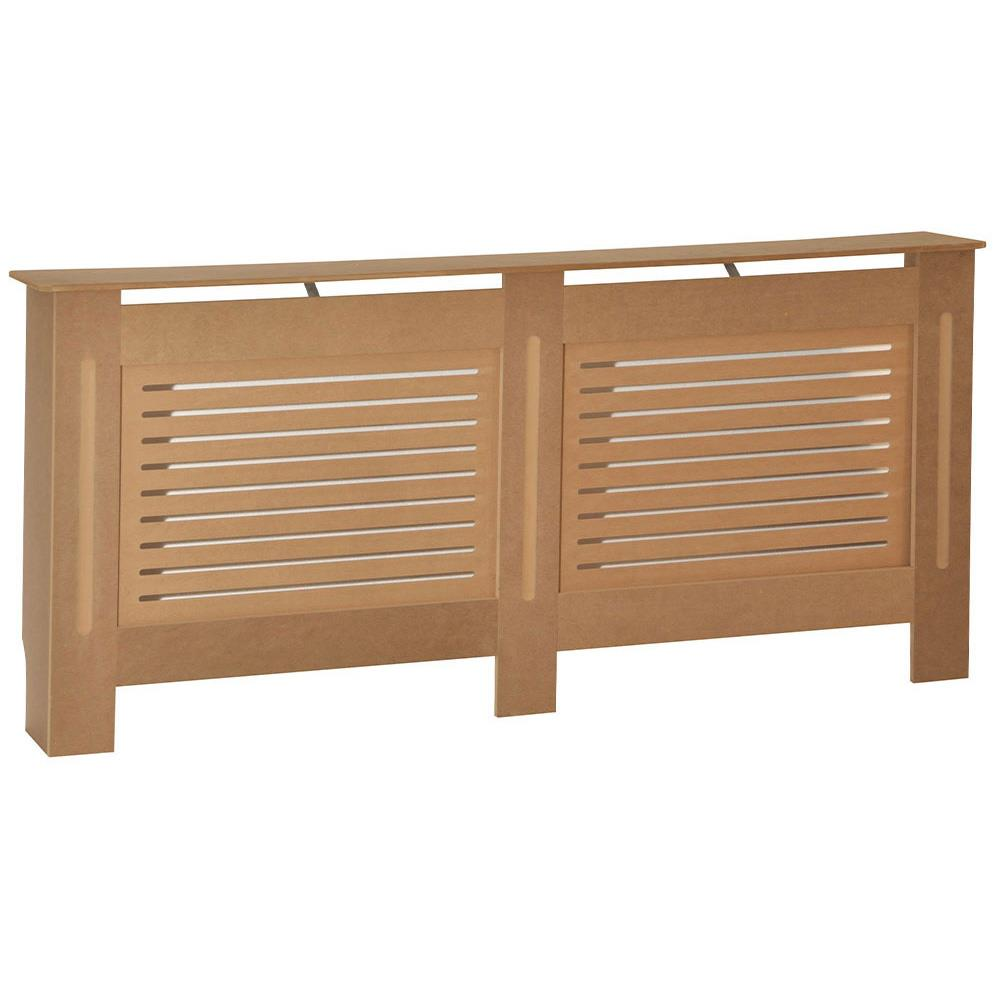 thumbnail 193 - Radiator Cover White Unfinished Modern Traditional Wood Grill Cabinet Furniture