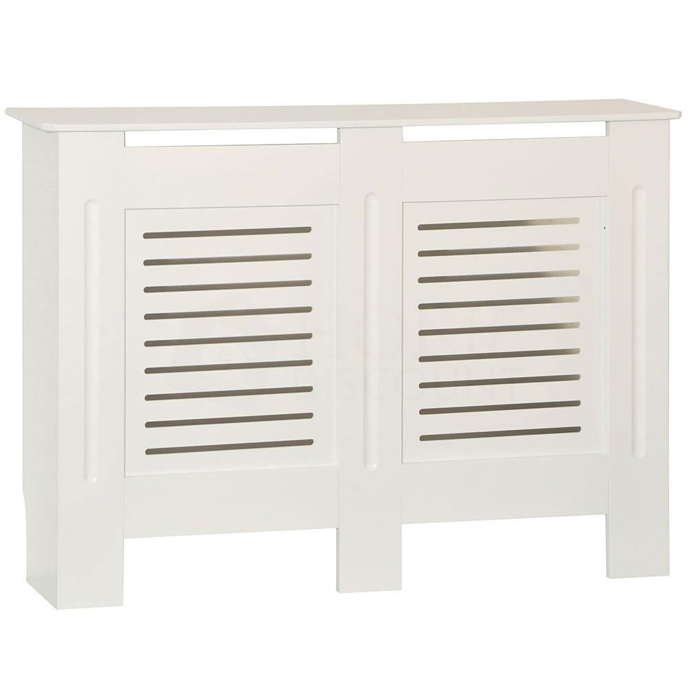thumbnail 129 - Radiator Cover White Unfinished Modern Traditional Wood Grill Cabinet Furniture