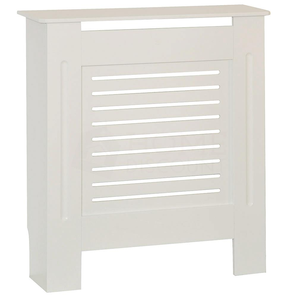 thumbnail 105 - Radiator Cover White Unfinished Modern Traditional Wood Grill Cabinet Furniture