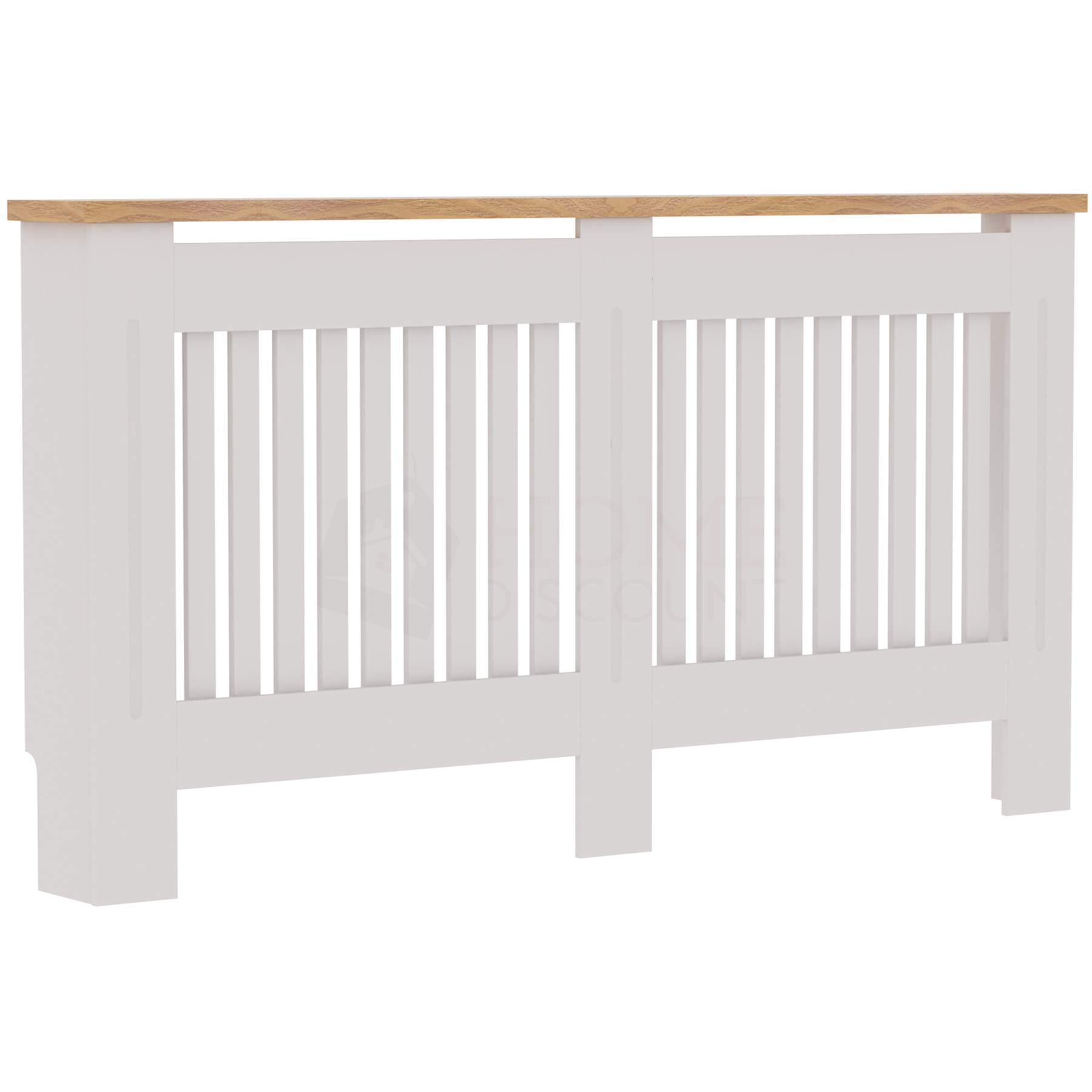 Radiateur-Housse-Blanc-inachevee-MODERNE-BOIS-TRADITIONNELLE-Grill-cabinet-furniture miniature 25