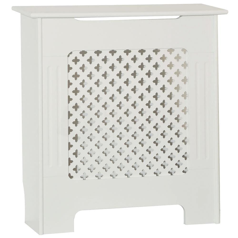 Radiateur-Housse-Blanc-inachevee-MODERNE-BOIS-TRADITIONNELLE-Grill-cabinet-furniture miniature 217