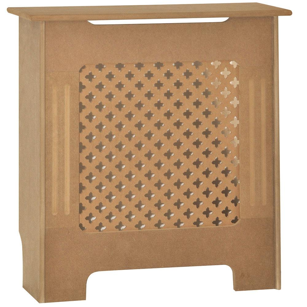 Radiateur-Housse-Blanc-inachevee-MODERNE-BOIS-TRADITIONNELLE-Grill-cabinet-furniture miniature 225