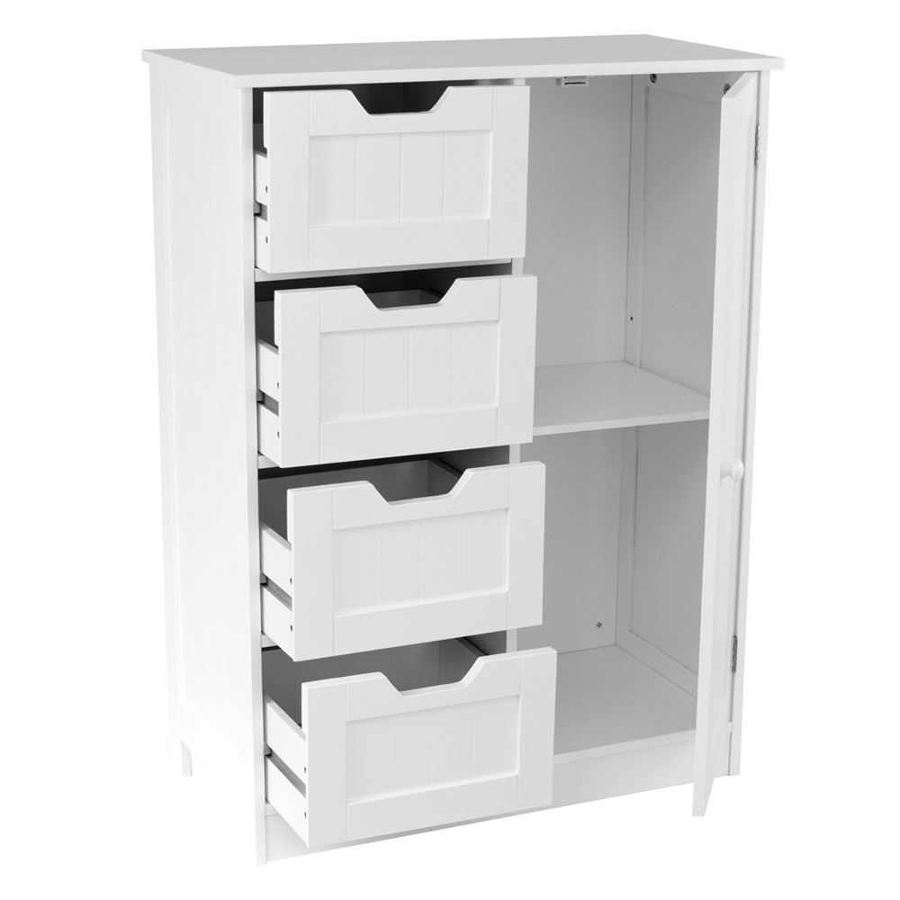 Freestanding bathroom cabinet white vanity storage mirror Bathroom vanity cabinet storage