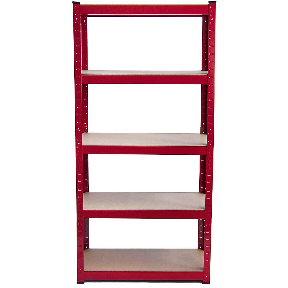 5-Tier-Garage-Shelves-Shelving-Unit-Racking-Boltless-Heavy-Duty-Storage-Shelf thumbnail 46