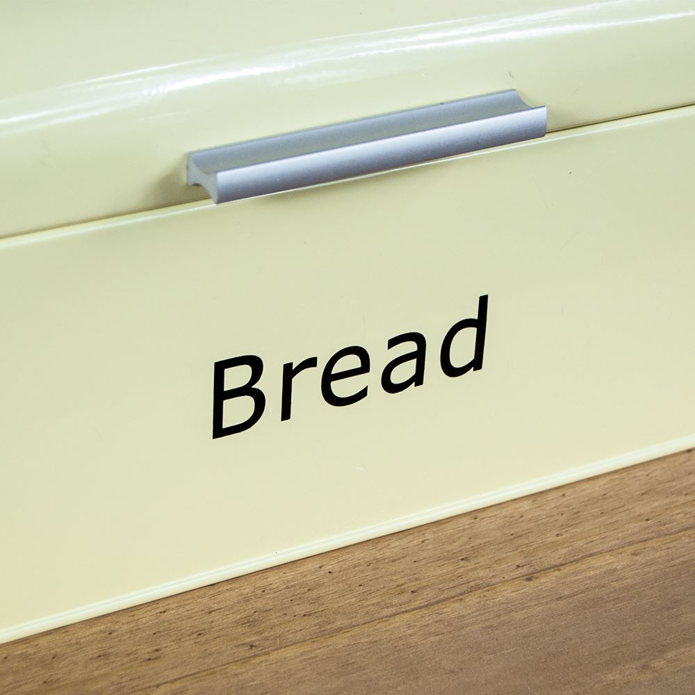Curved-Bread-Bin-Steel-Kitchen-Top-Storage-Roll-Loaf-Box-New-By-Home-Discount thumbnail 13
