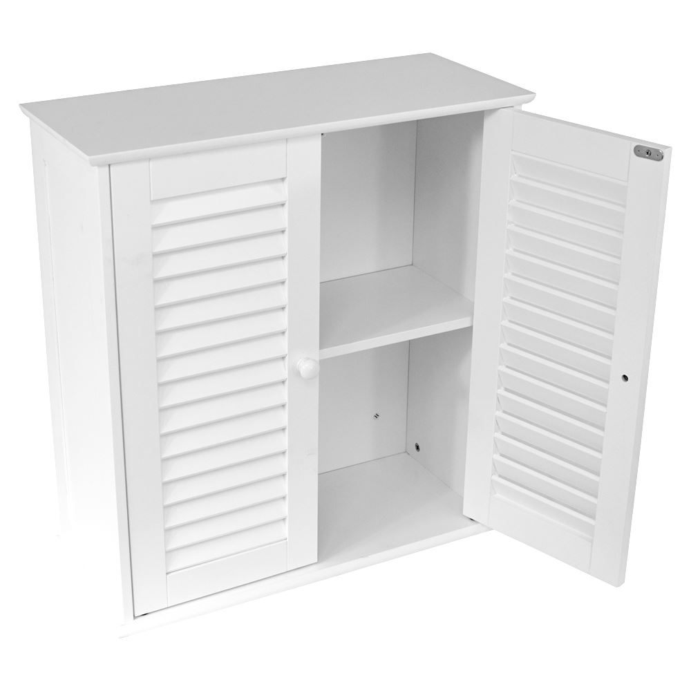 white wall cabinet wall mounted cabinet bathroom white single door 29174