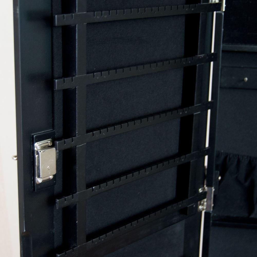 Nishano Jewellery Cabinet Floor Standing Mirror Storage
