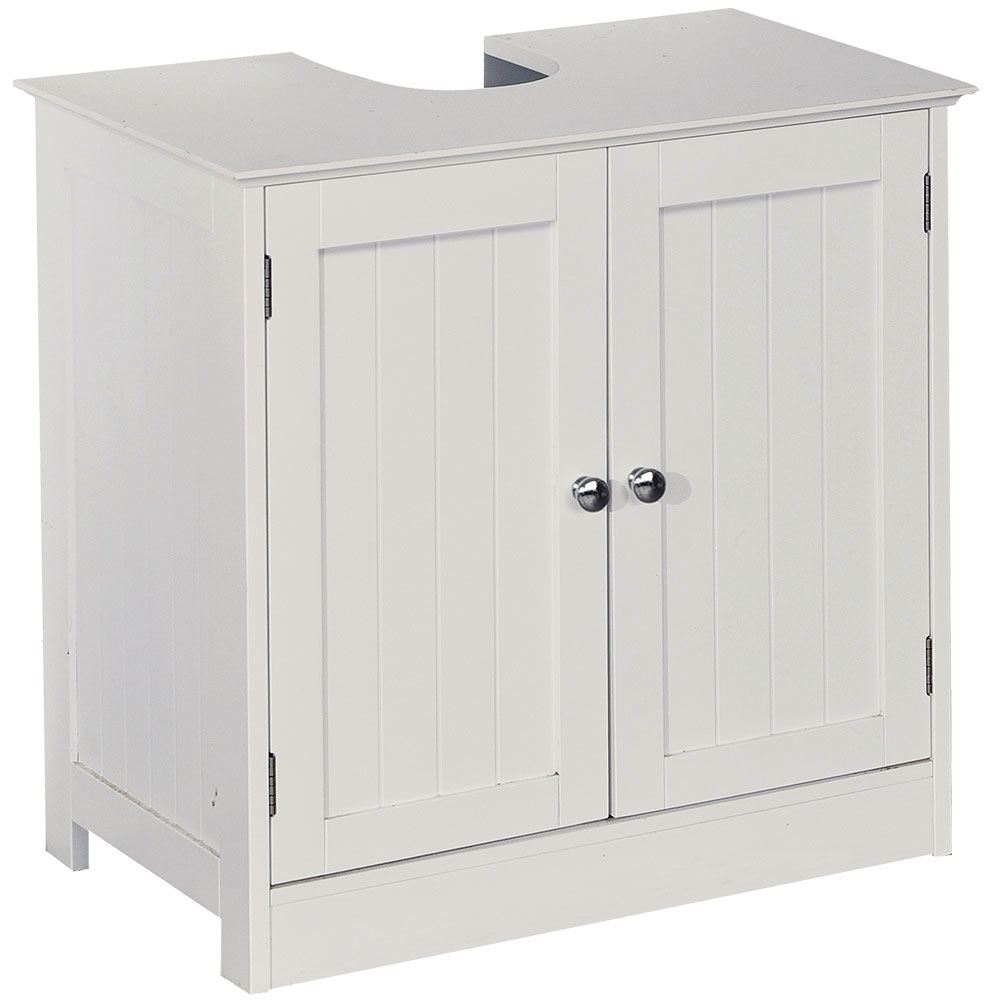 Storage Units Bathroom: Priano Freestanding Bathroom Cabinet Unit White Vanity