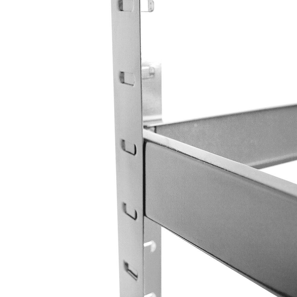 Heavy Duty Garage : Tier heavy duty garage shelves shelving steel racking