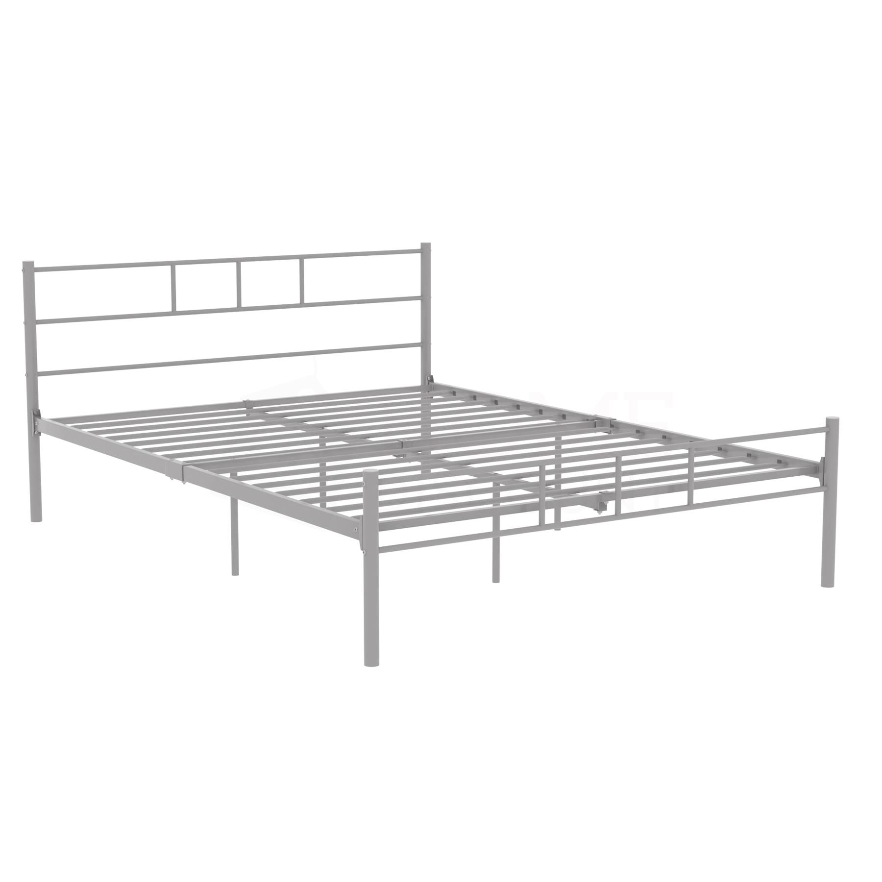 Dorset-Double-King-Size-Single-Bed-Metal-Steel-Frame-4ft6-5ft-Bedroom-Furniture thumbnail 44