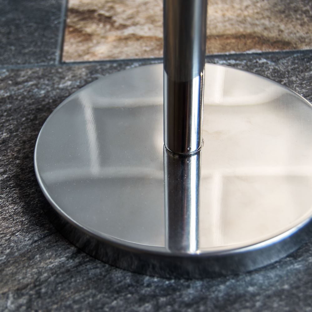 toilet paper holder stainless steel silver bathroom storage organiser roll 5055998417007 ebay. Black Bedroom Furniture Sets. Home Design Ideas